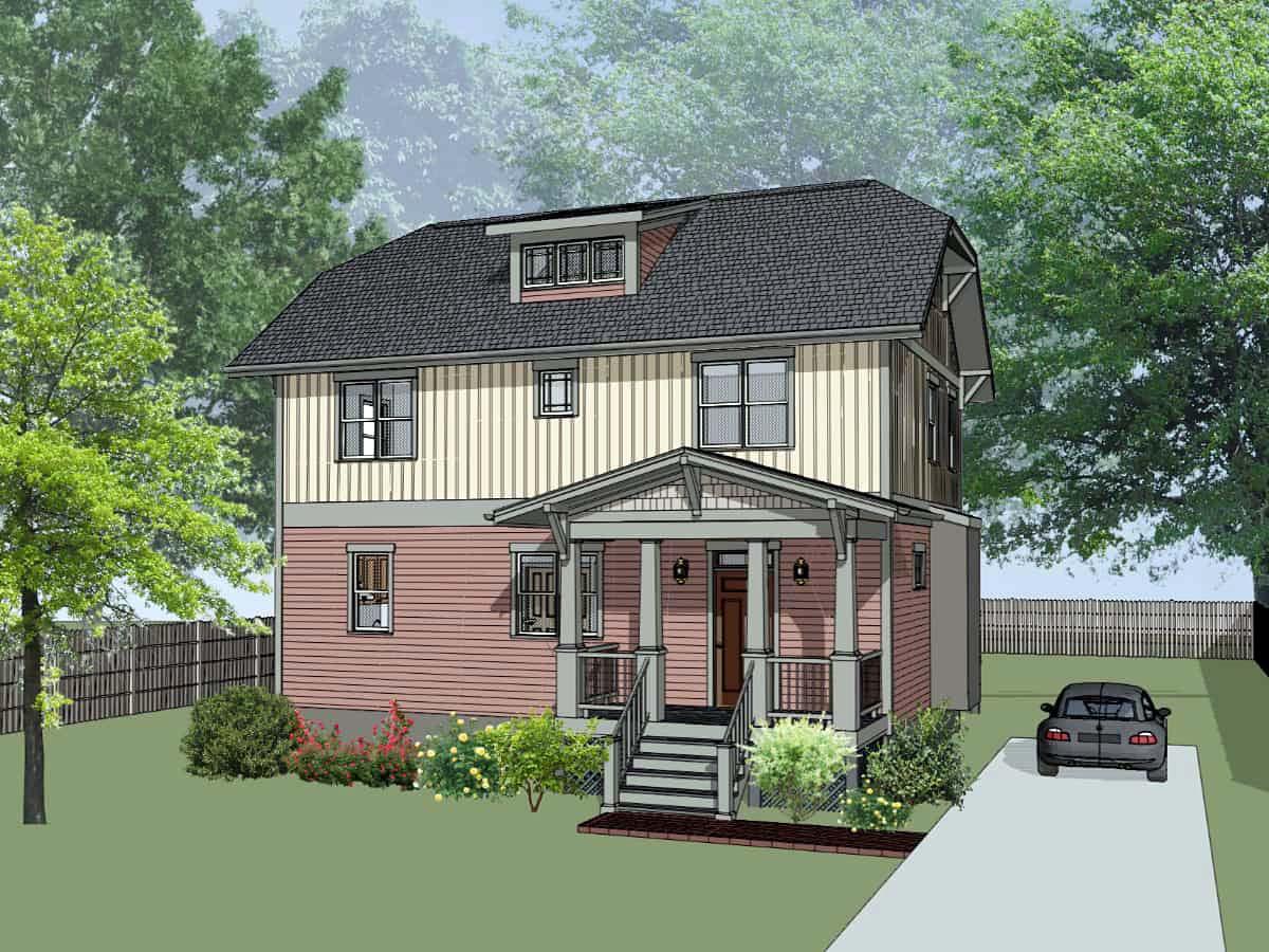 House Plan 75571