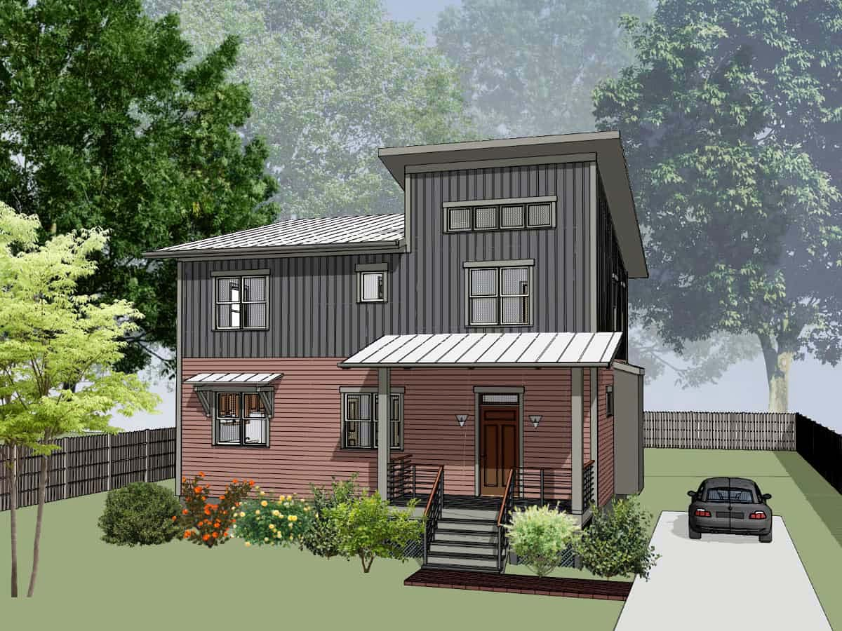 House Plan 75572
