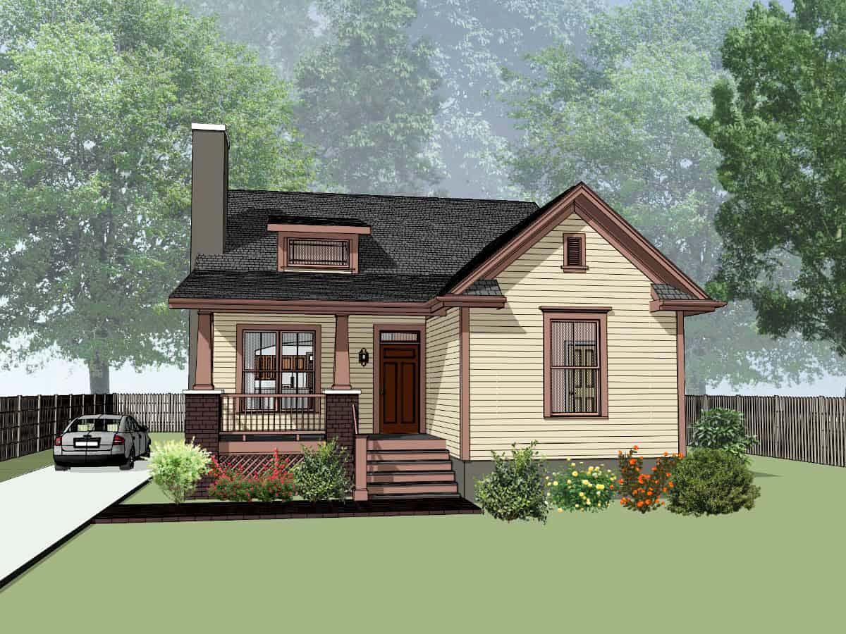 House Plan 75573
