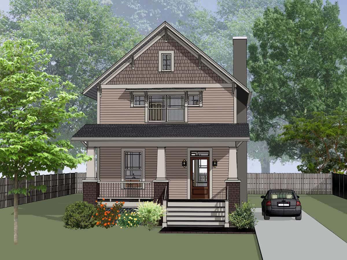 House Plan 75578