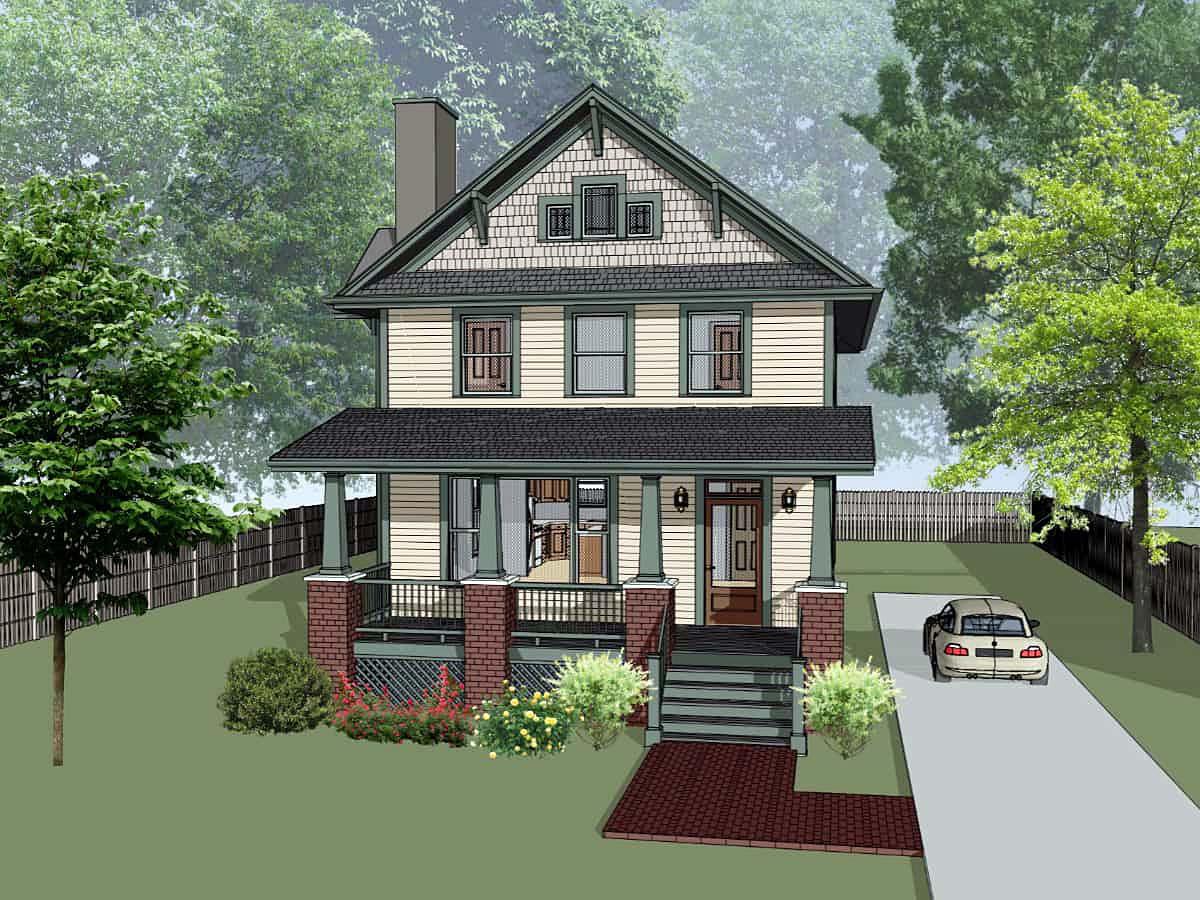 House Plan 75580