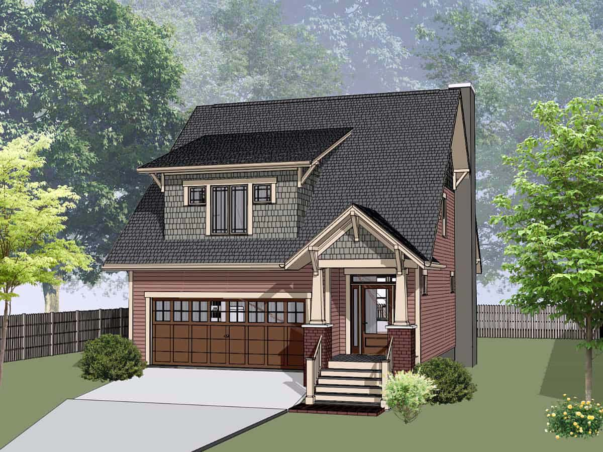 House Plan 75582