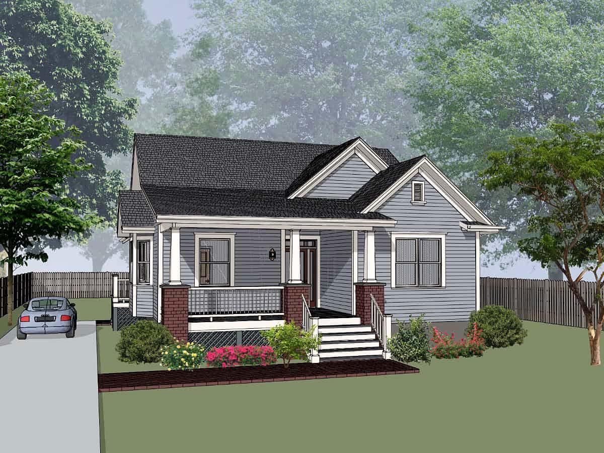House Plan 75584