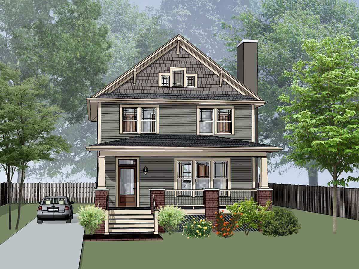 House Plan 75586
