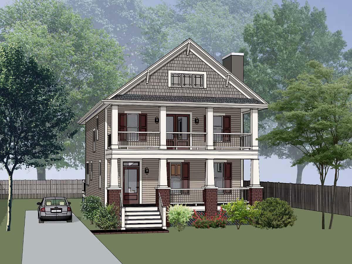 House Plan 75587