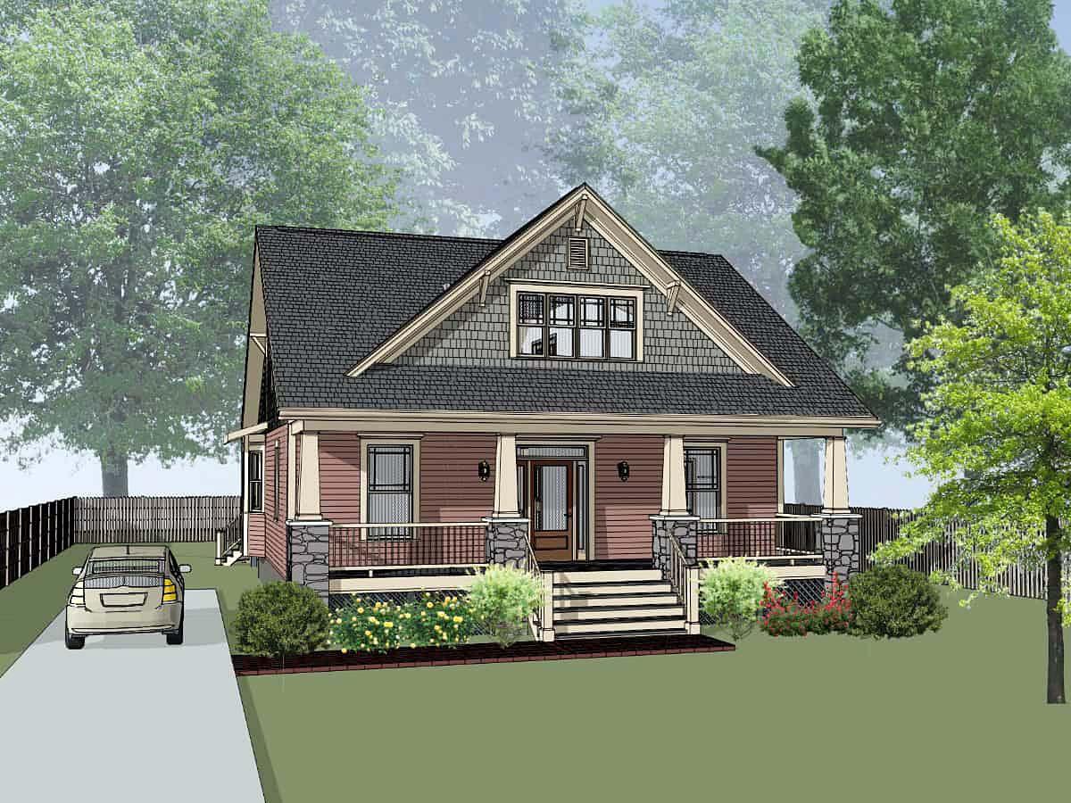 House Plan 75589