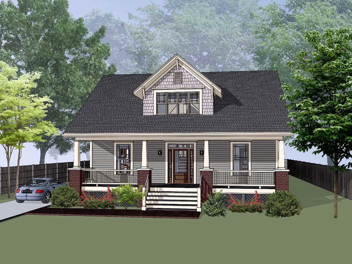 House Plan 75593