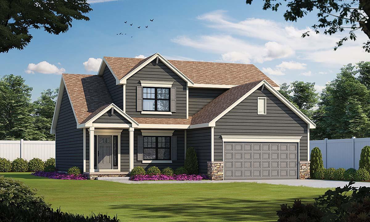 House Plan 75700