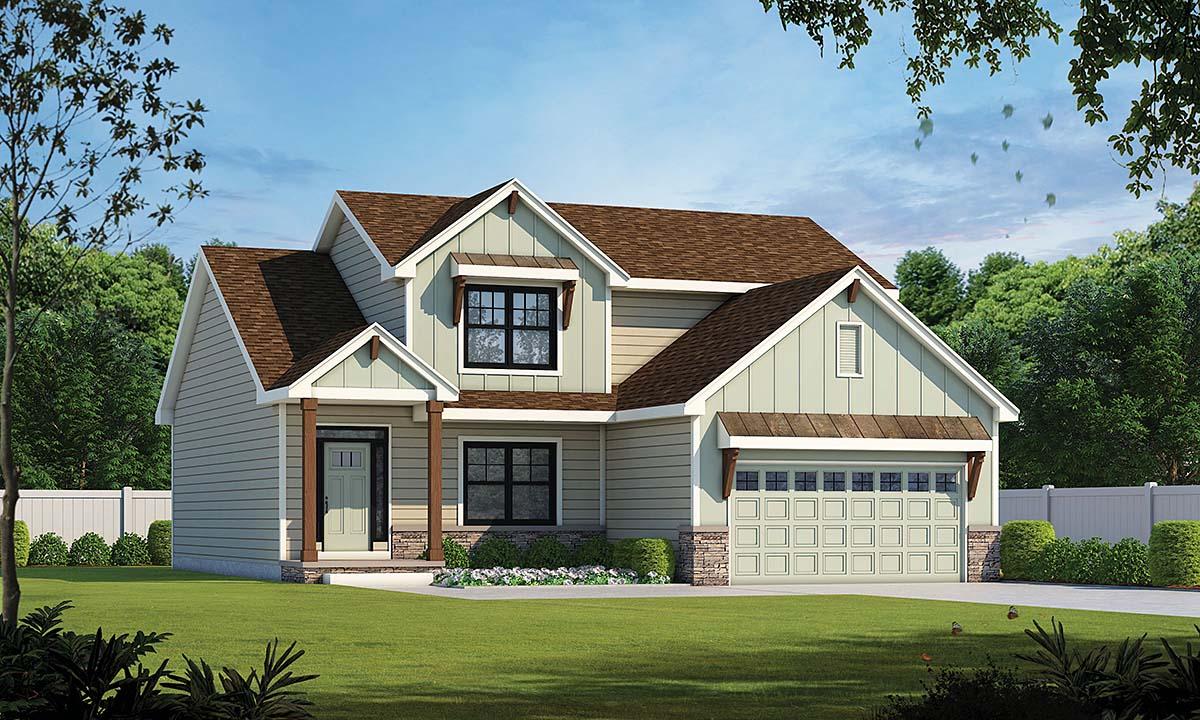 House Plan 75701