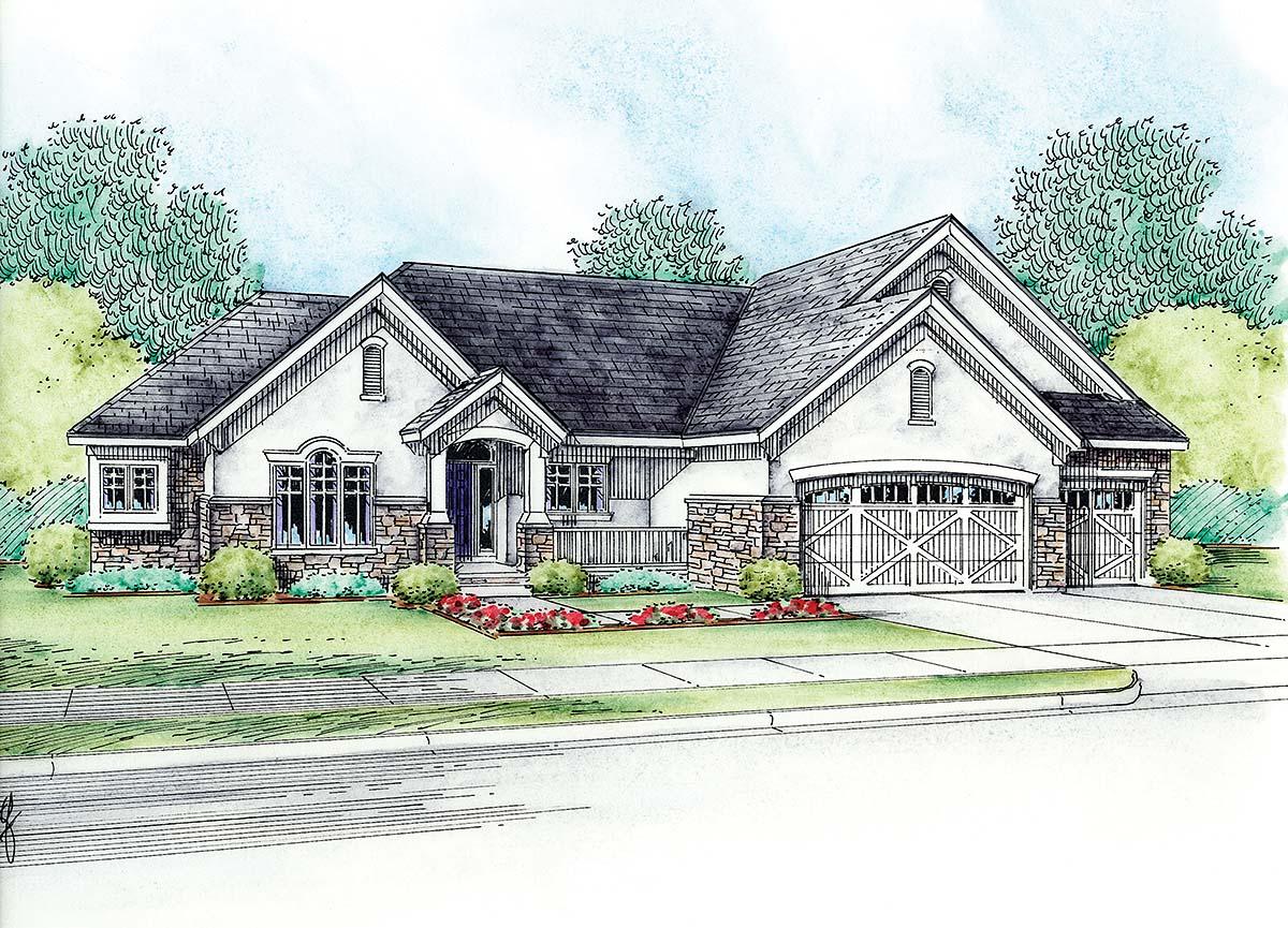 House Plan 75704