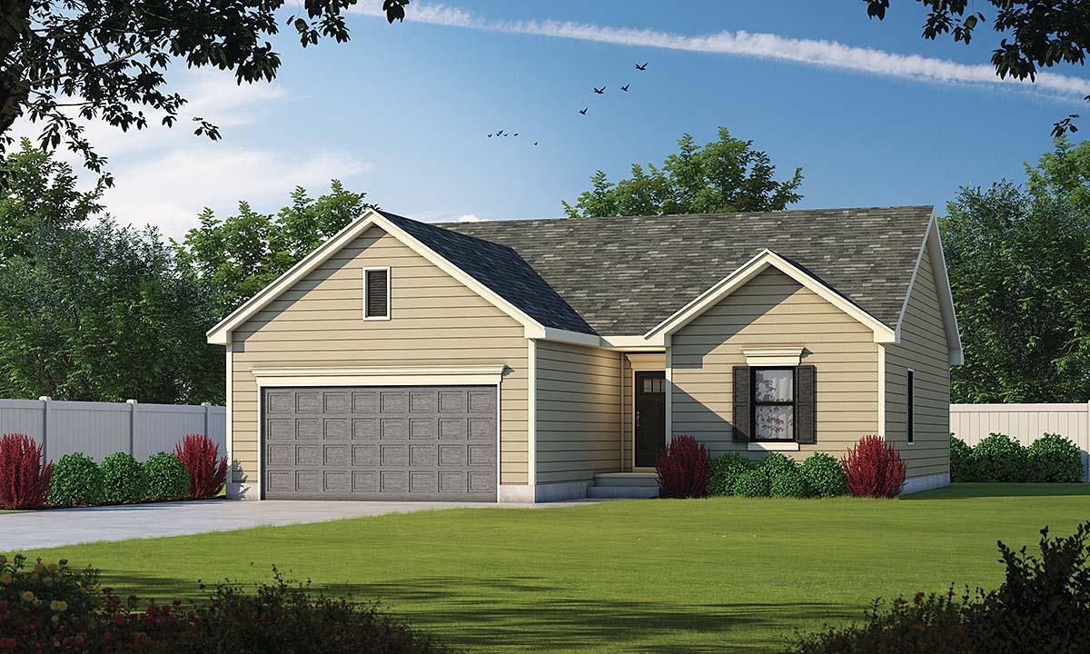 House Plan 75706