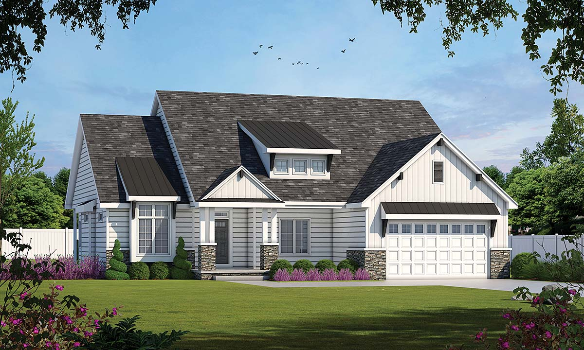 House Plan 75707