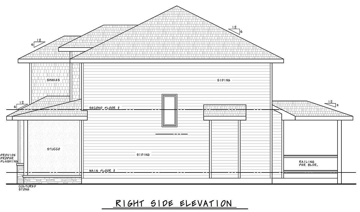 Bungalow, Craftsman, Traditional House Plan 75708 with 4 Beds, 4 Baths, 3 Car Garage Picture 1