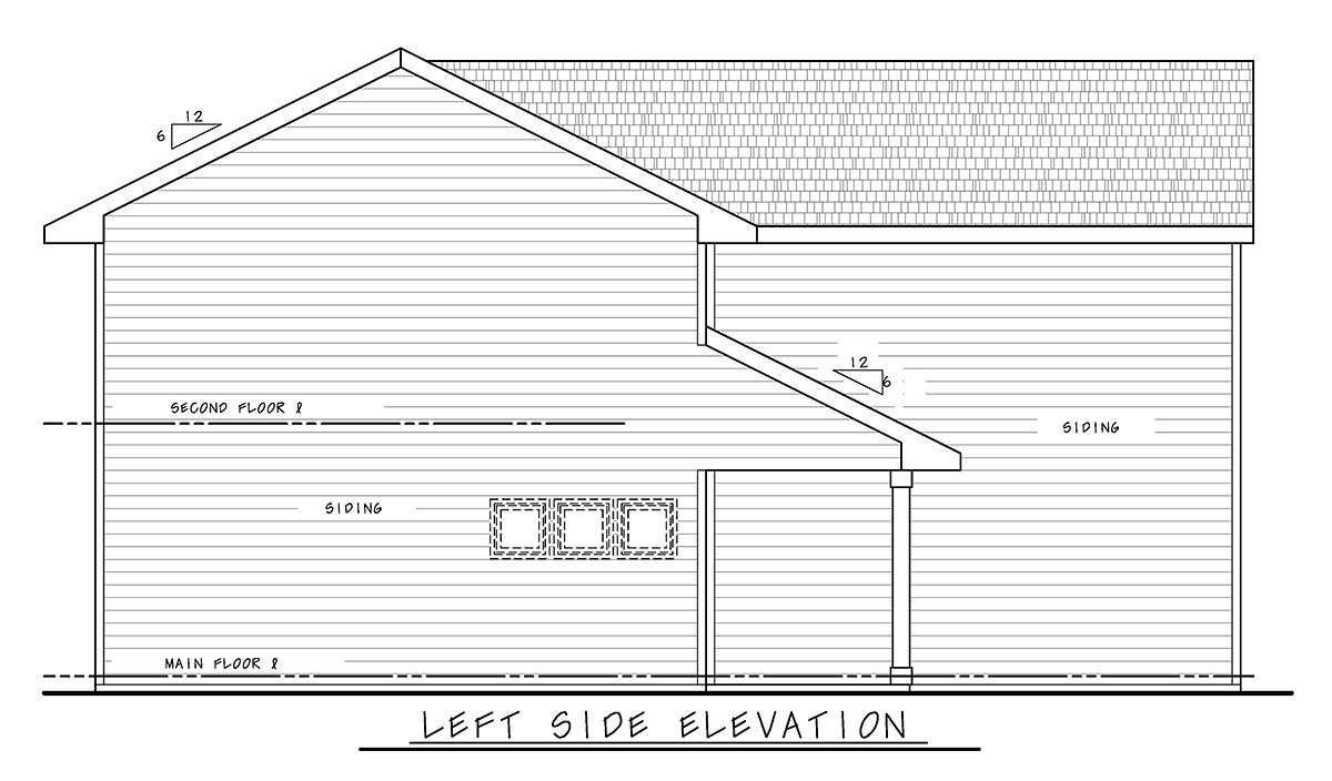 Craftsman, Farmhouse House Plan 75719 with 3 Beds, 3 Baths, 2 Car Garage Picture 2