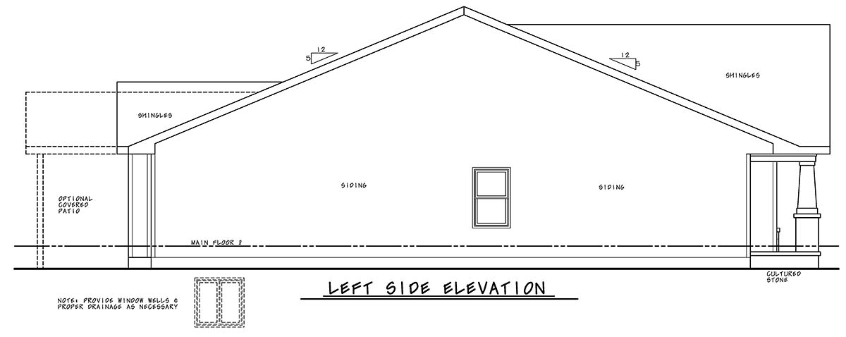 Craftsman, Farmhouse House Plan 75723 with 2 Beds, 2 Baths, 2 Car Garage Picture 2