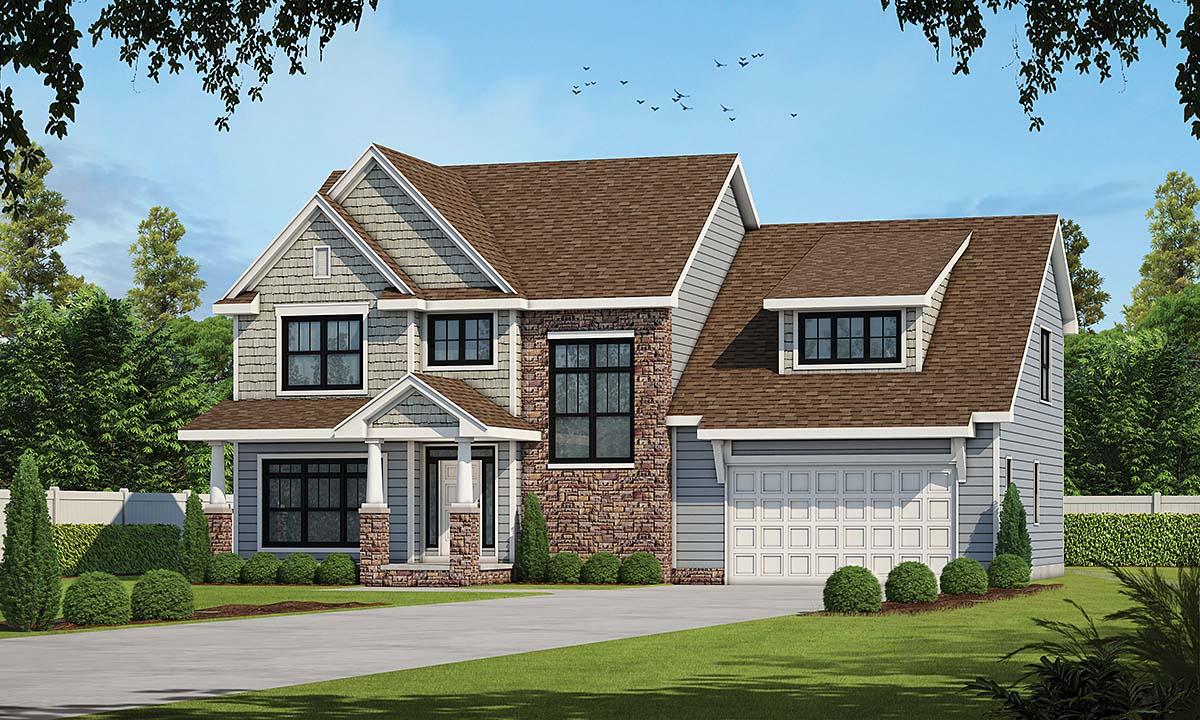 House Plan 75735