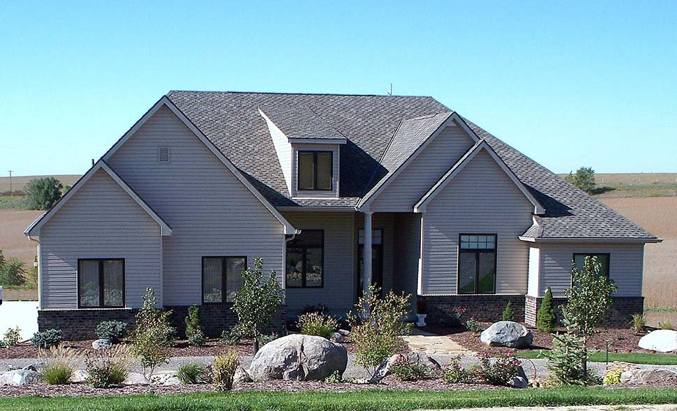 Craftsman, French Country House Plan 75737 with 4 Beds, 4 Baths, 3 Car Garage Picture 7