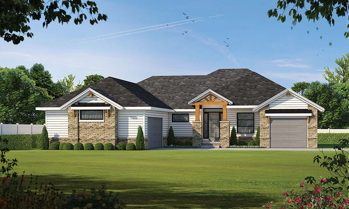 House Plan 75740