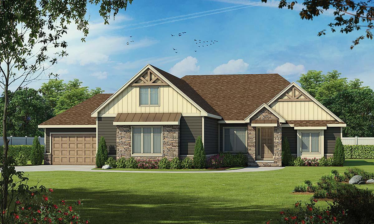 House Plan 75741