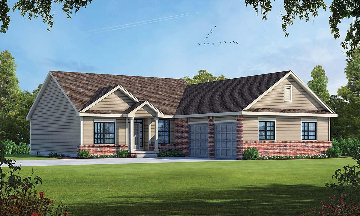 House Plan 75752
