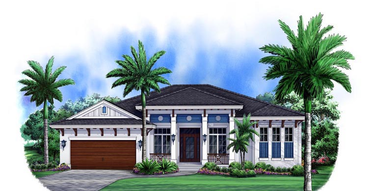Mediterranean House Plan 75902 Elevation