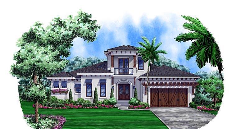 Mediterranean House Plan 75903 Elevation