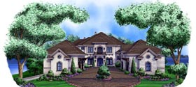 European House Plan 75910 Elevation