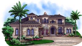 Mediterranean House Plan 75912 Elevation