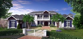 Mediterranean House Plan 75914 Elevation