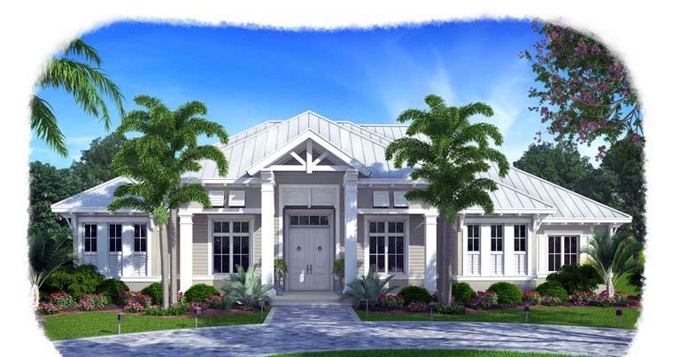 Florida House Plan 75919 Elevation