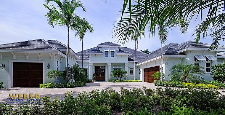 Florida Mediterranean House Plan 75926 Elevation