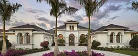 Florida Mediterranean House Plan 75940 Elevation