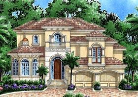 Florida Mediterranean House Plan 75962 Elevation