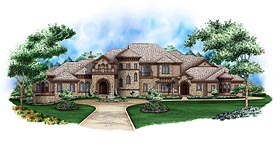 European French Country House Plan 75983 Elevation