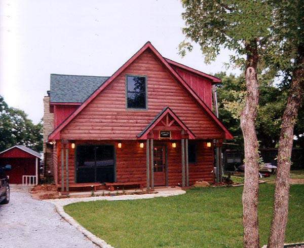 Narrow Lot House Plan 76005 with 2 Beds, 2 Baths Picture 2