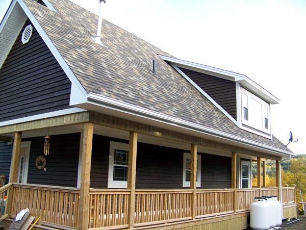 Cabin House Plan 76011