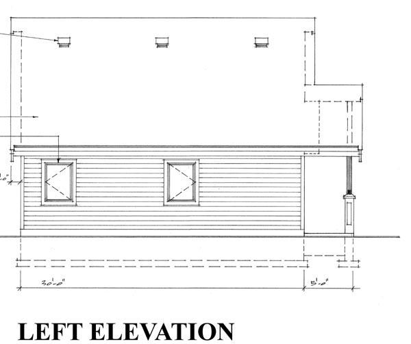 2 Car Garage Plan 76015 Picture 1