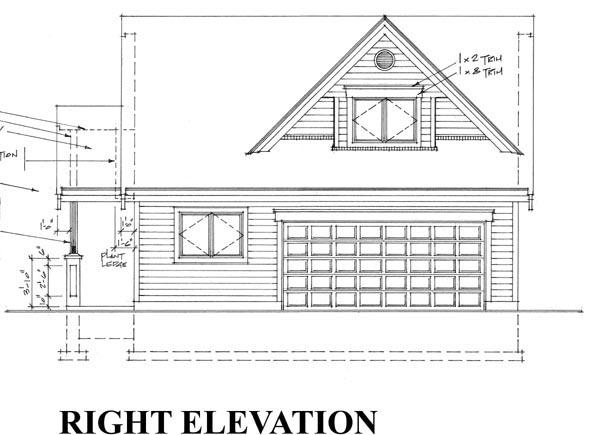 2 Car Garage Plan 76015 Picture 2