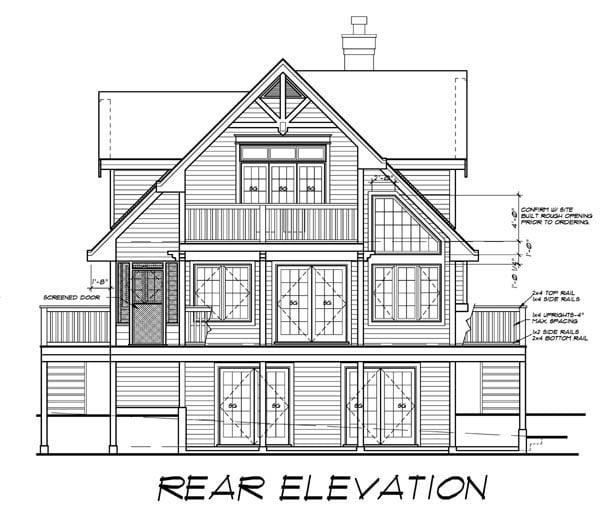House Plan 76016 At