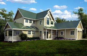 Plan Number 76017 - 2604 Square Feet