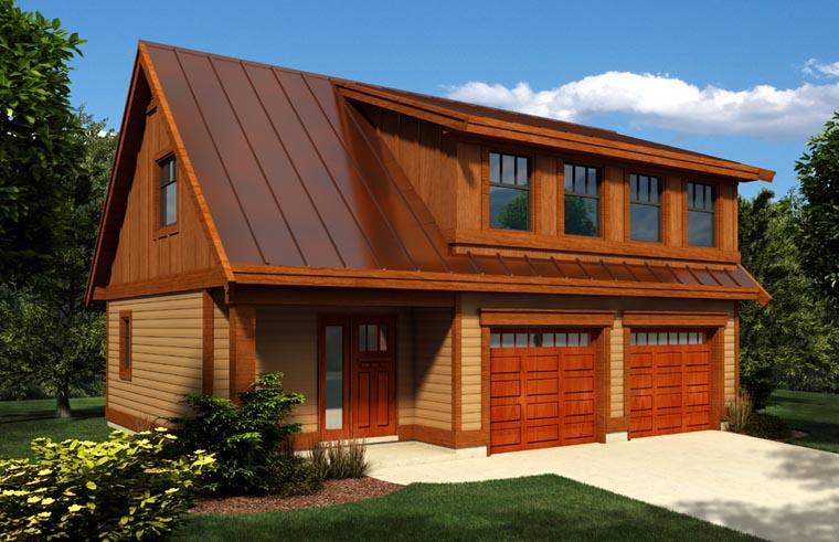Garage Plan 76024 Elevation