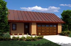 Garage Plan 76027