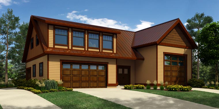 Garage Plan 76029 Elevation