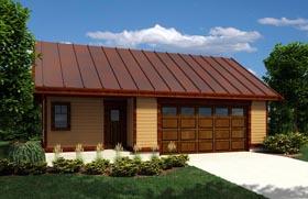 Garage Plan 76035