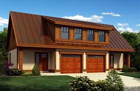 Garage Plan 76040