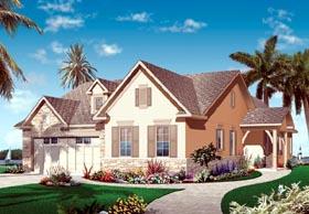 Florida Mediterranean House Plan 76101 Elevation