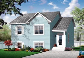 Traditional House Plan 76111 Elevation