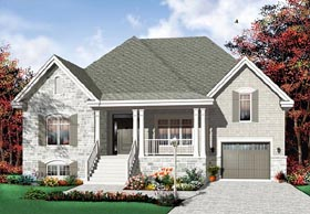 Traditional House Plan 76114 Elevation