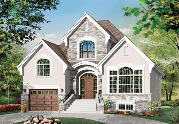Traditional House Plan 76127 Elevation