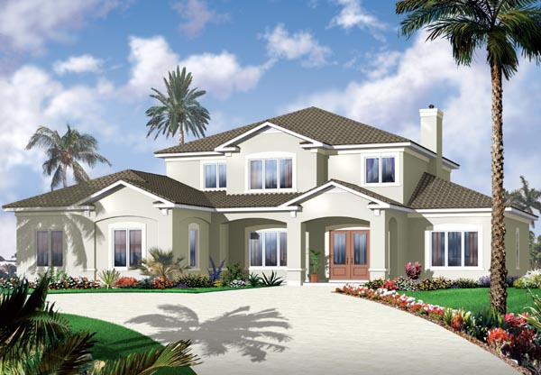 Florida House Plan 76131 Elevation